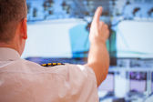 Airline pilot — Stock Photo