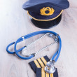 Aeromedical Exam - Stock Photo