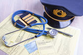 Aeromedical Exam — Stock Photo