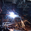 Welding metal — Stock Photo #27886879