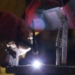 Welding metal — Stock Photo #28800549