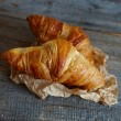 French croissants Crescents — Stock Photo #40866921