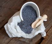 Poppy seed — Stock Photo