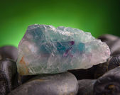 Fluorite also called fluorspar — Stock Photo