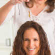 Therapist using pendulum — Stock Photo #43235767