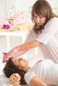 Reiki healing — Stock Photo