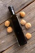 Olej z vlašských ořechů — Stock fotografie