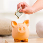 Saving money — Stock Photo