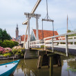 Stock Photo: Bridge in village Edam