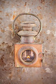 Vintage rusty lantern — Stock Photo