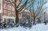Amsterdam town square — Stock Photo