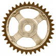 Old gear wheel — Stock Photo #41031363