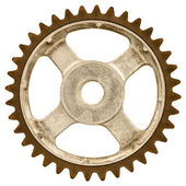 Old gear wheel — Stock Photo