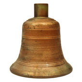 Ancient large church bell — Stock Photo