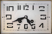 Art deco clockface — Stock Photo