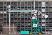 Old harbor crane — Stock Photo