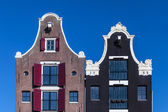 Dutch canal houses — Stock Photo