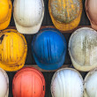 Construction helmets — Stock Photo