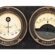 Stock Photo: Double ampere meter