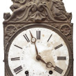 Stock Photo: Vintage nineteenth century clock