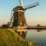 Dutch historic windmill — Stock Photo