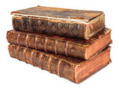 Antique books — Stockfoto