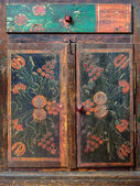 Dutch handpainted cabinet — Stock Photo