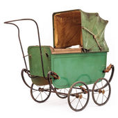 19th Century baby pram — Stock Photo