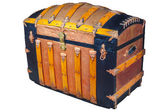 Medieval treasure chest — Stock Photo