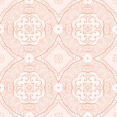 Hand drawn seamless pattern in soft pink color — Stock Vector