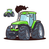 Green Tractor — Stock Photo