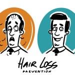 Hair loss prevention. — Stock Vector #42111207