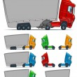 Stock Vector: Lorry.