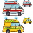 Ambulance car — Stock Vector