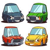 Set di automobili — Vettoriale Stock