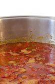 Stew in pot — Stock Photo