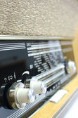 Old radio buttons — Stock Photo