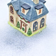 Stock Photo: Winter home