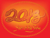 Chinese New Year, 2013 — Stock Vector