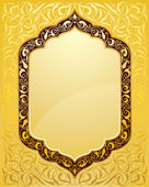 Elegant islamic template design — Stock Vector