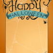 Stock Vector: Happy Halloween typography