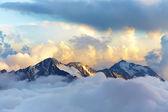 альпийский горный пейзаж — Стоковое фото