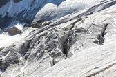 Mountain glacier — Stockfoto