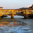 Ponte Vechio in Florence - Stock Photo