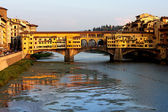 Ponte Vechio in Florence — Stock Photo