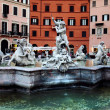 Piazza Navona in Rome — Stock Photo