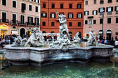 Piazza Navona in Rome — Stock Photo
