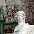 Stock Photo: Angel marble sculpture