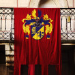 Medieval flag - Stock Photo