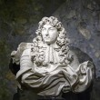 Bust of king Louis XIV — Stock Photo
